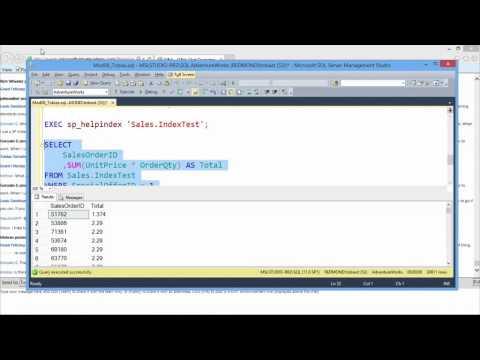 08 -Querying Microsoft SQL Server 2012 -  Retrieving SQL Metadata and Improving SQL Performance