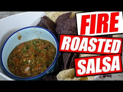 Fire Roasted Chipotle Jalapeno Salsa | Spicy 🌶️ | Cooking Video
