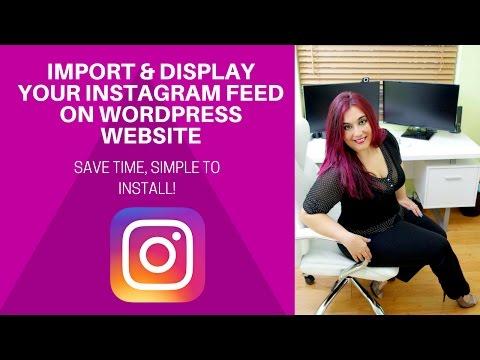 WOW! Import Your Instagram Feed on Wordpress Website | DIVI TUTORIAL