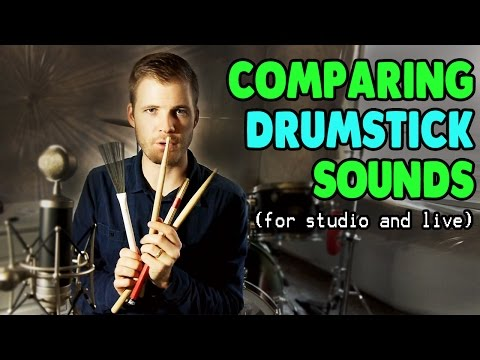 Which Type of Drum Stick Should You Use??