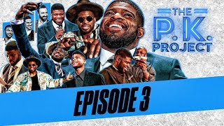 P.K. Subban learns how to be a late night talk show host | The P.K. Project Ep. 3 | NBC Sports