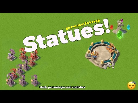 Boom Beach - How to get Perfect Statues!