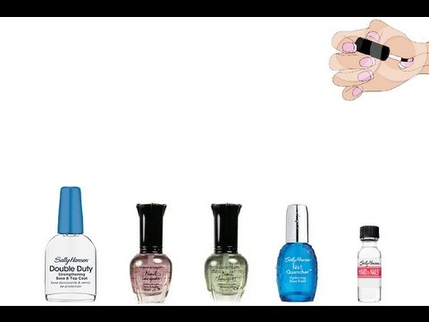 How to prevent Sticky Nail Polish & Mix Your Own Base Coat??