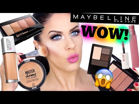 MAYBELLINE ONE BRAND TUTORIAL!! FAVORITES AND MUST HAVES!!!