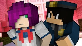 Minecraft Yandere High School - YANDERE GETS ARRESTED! #21 | Minecraft School Roleplay