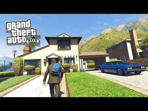 GTA 5 PC Mods - REAL LIFE MOD #11! GTA 5 School & Jobs Roleplay Mod Gameplay! (GTA 5 Mod Gameplay)