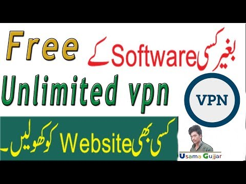 How to use free Unlimited vpn on pc/mac 2017 in urdu/hindi