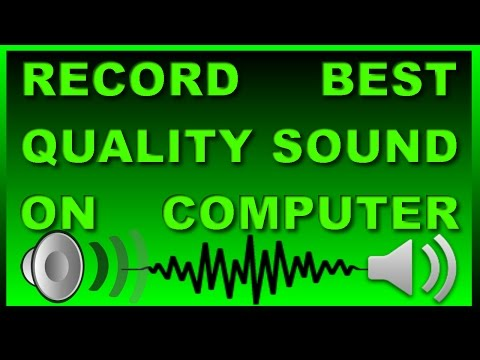 How to record clear/best sound on Computer?Computer par acchi quality ki sound kaise record kare?
