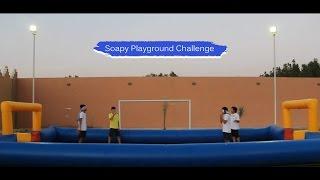 #x202b;تحديات : تحدي الملعب الصابوني | Soapy Playground Challenge#x202c;lrm;