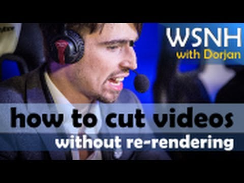How to cut or trim videos without re-rendering/encoding for free [Work Smarter, Not Harder]