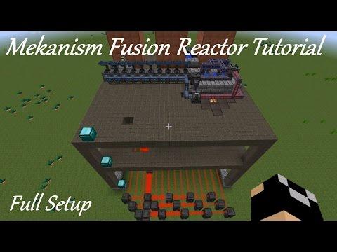 Mekanism Fusion Reactor Tutorial