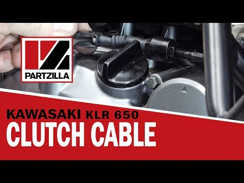 KLR 650 Clutch Cable Replacement | Partzilla.com