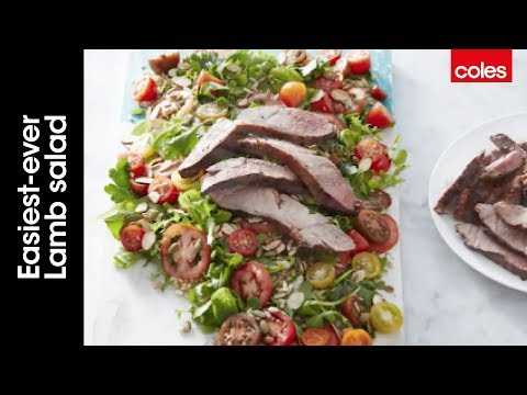 Easiest-ever lamb salad