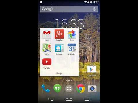 Screen Recording da Android 4.4 KitKat (Prova 1)