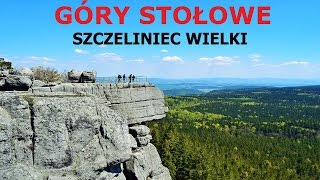 GÓRY STOŁOWE - Szczeliniec Wielki 07.05.2016