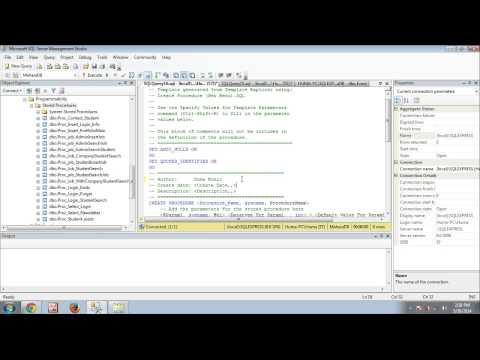 Mahara Zone: How to write update stored procedure in SQL Server