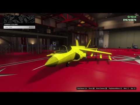 GTA 5 Online - Hydra