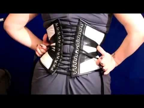 How to Lace Up A Corset By Yourself