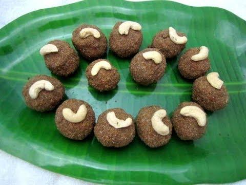 Kambu Laddu Recipe | Bajra Ladoo | கம்பு லட்டு | Tamil Food Corner
