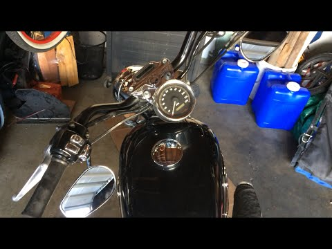 How to Change Handlebars and Grips on a Harley Davidson