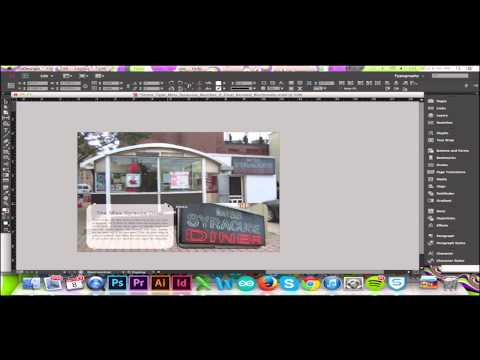 Create a Rounded Rectangle in InDesign CC/CS6