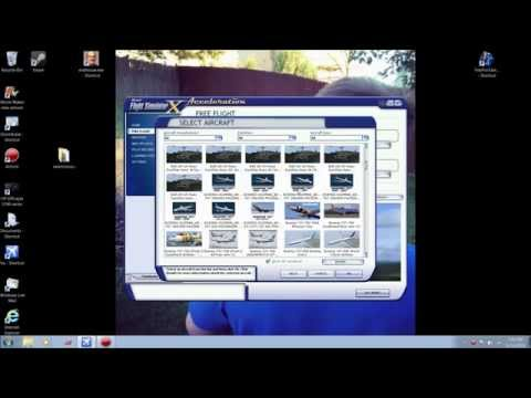 FSX How to install Aircraft into Microsoft Flight Simulator X