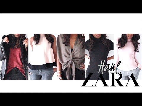 ZARA HAUL! WINTER OFFICE WEAR LOOKBOOK ft. THAT BIKER JACKET | Style With Substance