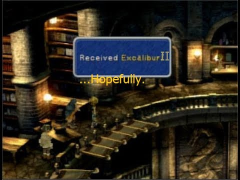 Live stream! Final Fantasy IX Excalibur II Run Part 2