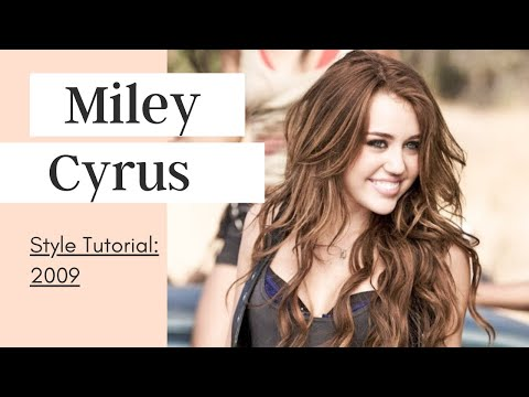 Miley Cyrus Makeup, Hair & Inspired Outfits