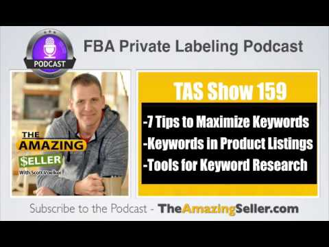 TAS 159 : 7 Tips For Finding The Best Keywords To Rank Your Products