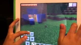 Como duplicar los diamantes en MineCraft en el iPad