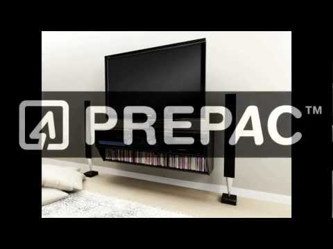 How to Install products with Prepac's Metal Rail Hanging System