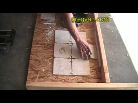 How to Mark the Edge of Ceramic Tile for Cutting