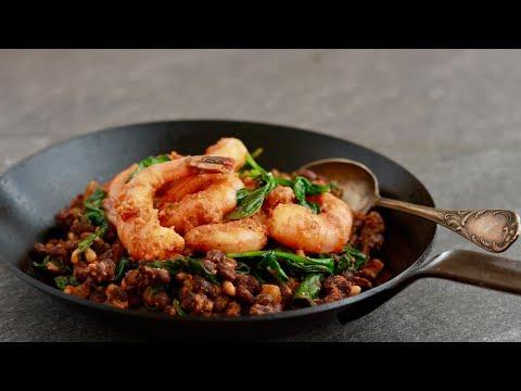 Sous-Vide Shrimp with Romesco (Sous-vide series, Ep. 5)