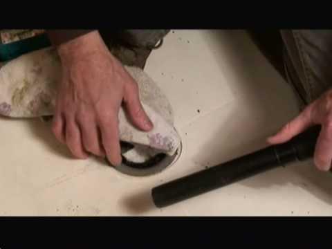 How to Remove Fiberglass Shower Pan Video