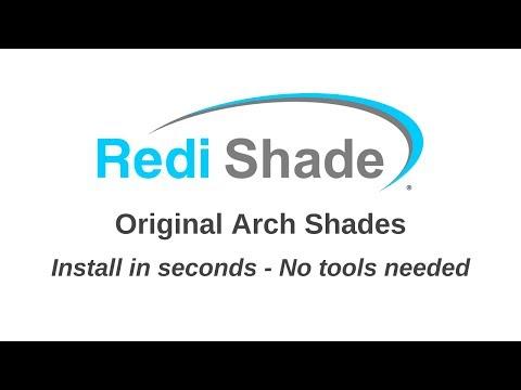 Original Arch Shades by Redi Shade