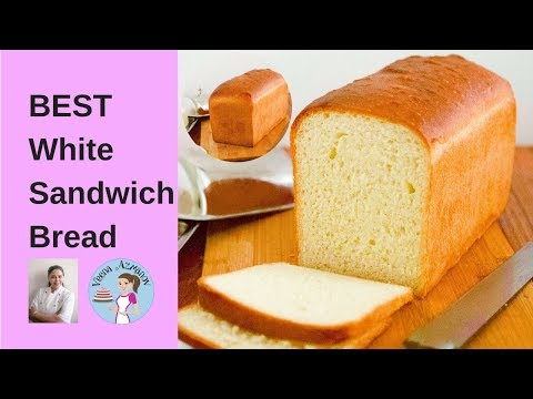 The Best White Sandwich Bread Recipe | Baking a bread from scratch