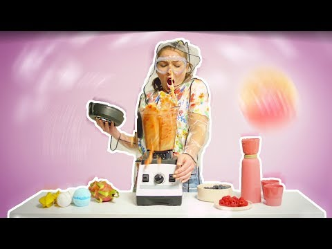 Turning A Blender On Without The Lid... yup | Jaclyn Forbes #MadeToMake
