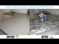 EASY DIY MARBLE COUNTERTOP | AFFORDABLE AND RENTAL FRIENDLY