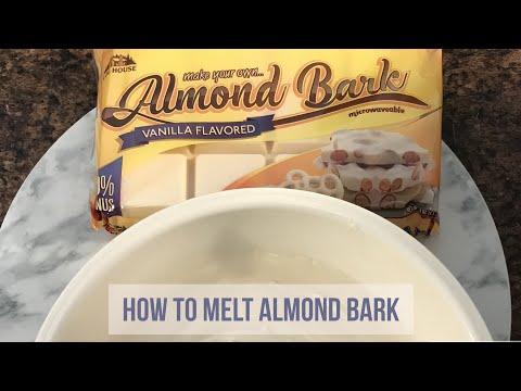 HOW TO | MELT ALMOND BARK