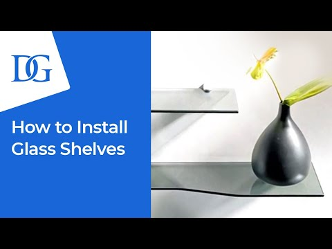 Dulles Glass and Mirror | GLASS SHELF INSTALL (Video)