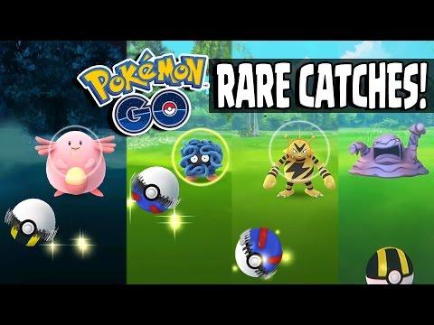 Pokemon GO   HUGE RARE POKEMON CATCHING SPREE!! Catching Chansey, Tangela, Wartortle & More!