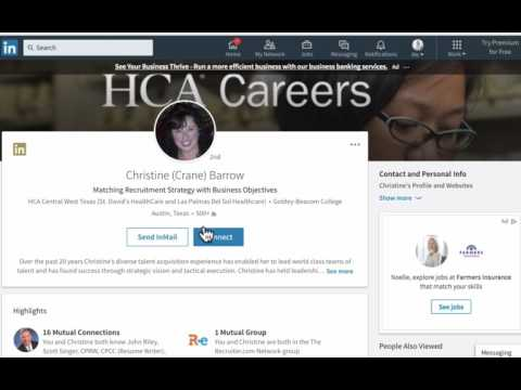 How to Connect and Message Non Connections On Linkedin