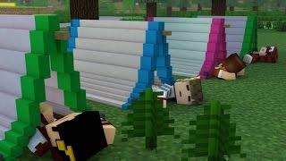 Minecraft: ACAMPAMENTO - INICIO DA SERIE ‹ AM3NlC ›