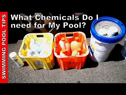 What Chemicals do I Need for My Pool?  Basic Overview