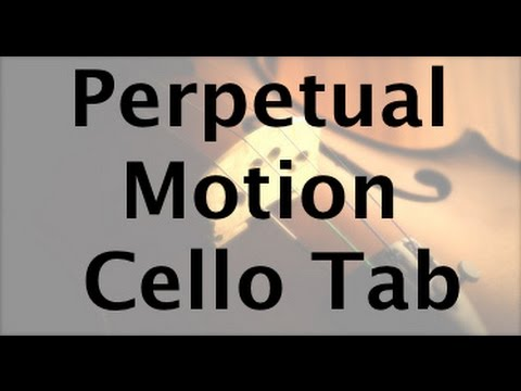 Learn Perpetual Motion by Suzuki on Cello - How to Play Tutorial