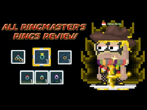 Growtopia | All Ringmaster's Rings Review