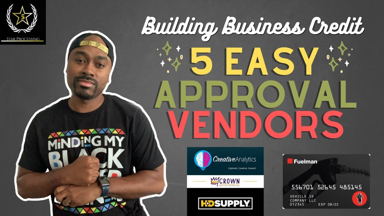How to Build Business Credit in 2021 | 5 Easy Approval Vendors