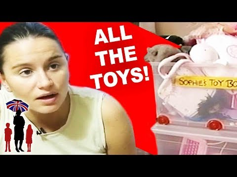 Supernanny | Mom Confiscates ALL Her Daughter's Toys!