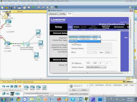 WAN and Cloud configuration 6/8 (wireless router - linksys - setting)